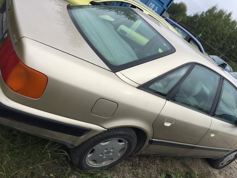 Naudotos automobiliu dallys Foto 8 Audi 100 1991 2.3 Automatinė Sedanas 4/5 d. Geltona 2018-9-17 A4082