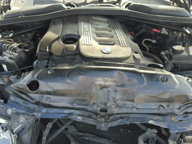 Naudotos automobiliu dallys Foto 5 BMW 5-SERIES 2006 3.0 Mechaninė Sedanas 4/5 d. Juoda 2018-8-12 A4037