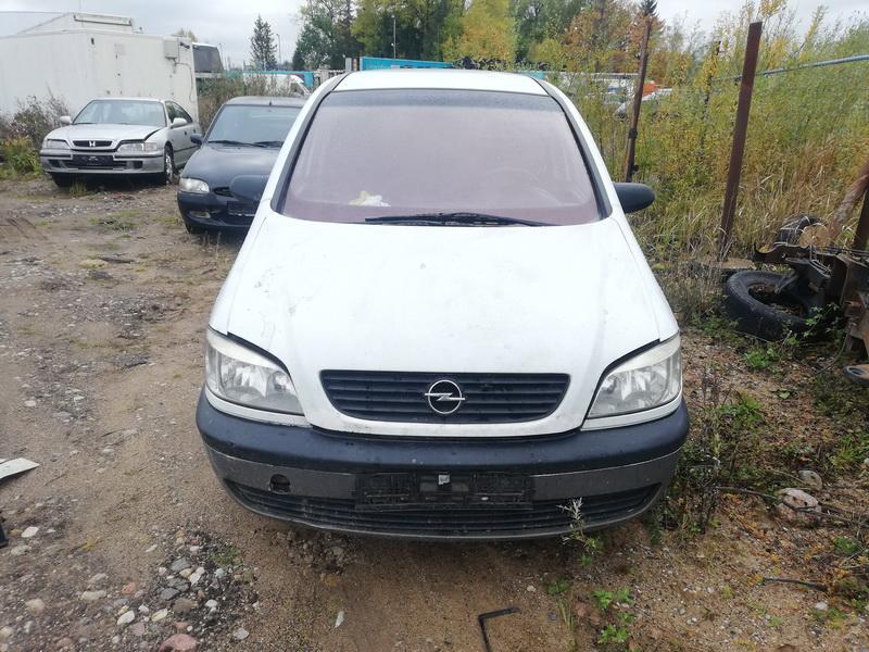 Naudotos automobilio dalys Opel ZAFIRA 2001 2.0 Mechaninė Vienatūris 4/5 d. Balta 2019-10-11