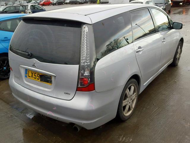 Подержанные Автозапчасти Mitsubishi GRANDIS 2005 2.0 машиностроение минивэн 4/5 d. Серый 2019-2-20