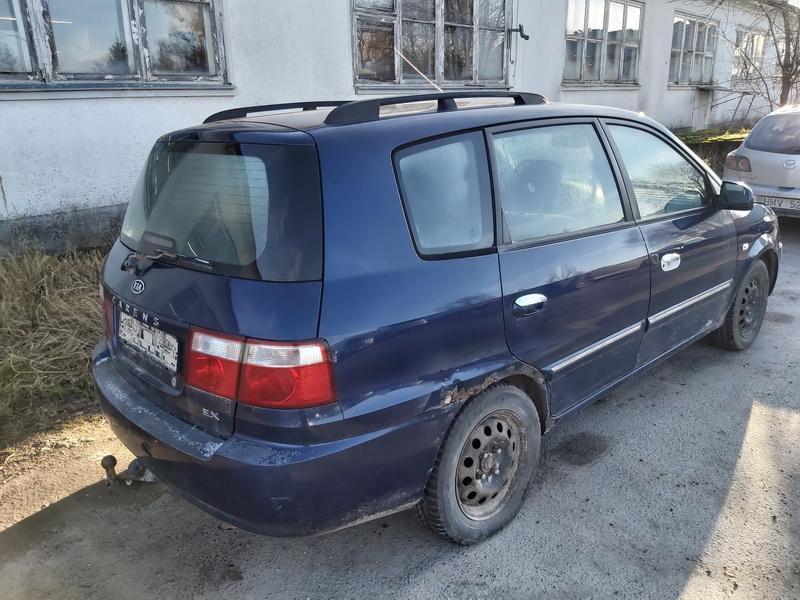 Naudotos automobilio dalys Kia CARENS 2003 2.0 Mechaninė Vienatūris 4/5 d. Melyna 2020-2-04