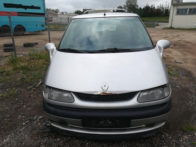 Naudotos automobilio dalys Renault ESPACE 2000 2.2 Mechaninė Vienatūris 4/5 d. Sidabrine 2019-7-26
