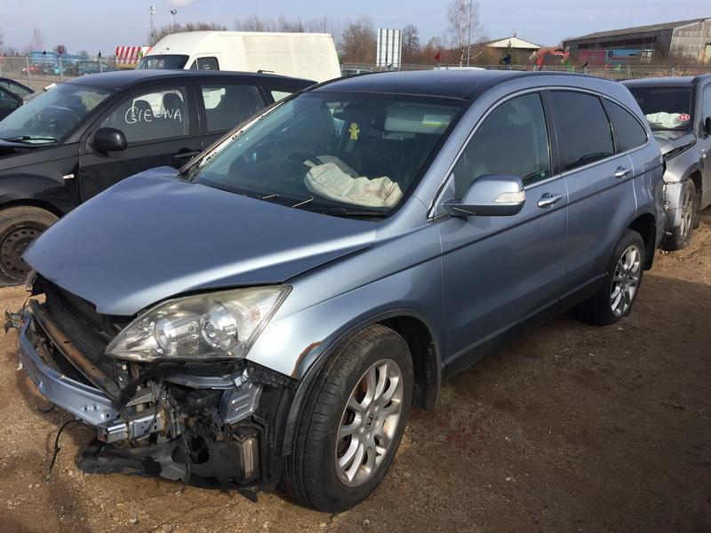 Naudotos automobiliu dallys Foto 3 Honda CR-V 2007 2.2 Mechaninė Visureigis 4/5 d. Melyna 2019-3-13 A4364