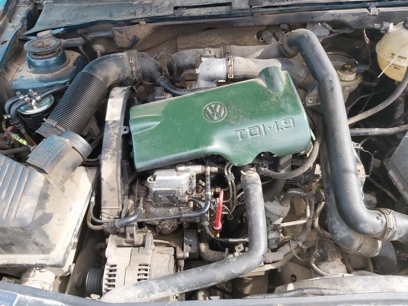 Naudotos automobiliu dallys Foto 2 Volkswagen GOLF 1995 1.9 Mechaninė Hečbekas 4/5 d. Zalia 2020-4-14 A5208
