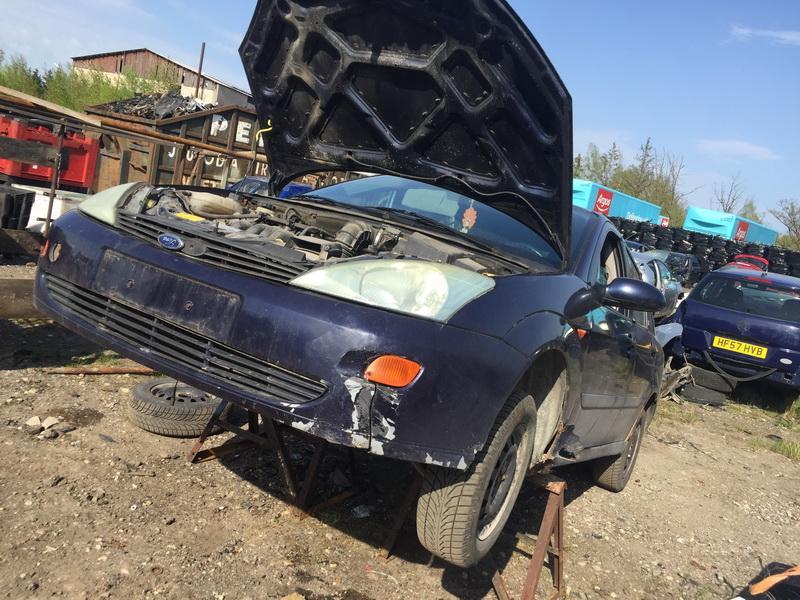 Naudotos automobilio dalys Ford FOCUS 2000 1.6 Mechaninė Sedanas 4/5 d. Melyna 2018-4-19