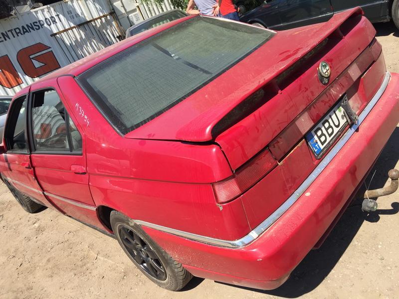 Naudotos automobiliu dallys Foto 7 Alfa-Romeo 164 1995 2.5 Mechaninė Sedanas 4/5 d. Raudona 2018-5-28 A3794