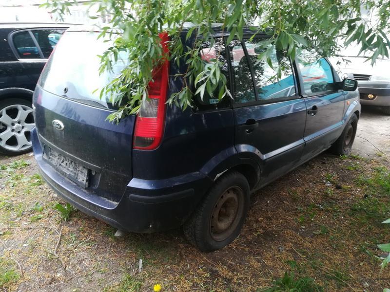 Naudotos automobiliu dallys Foto 9 Ford FUSION 2002 1.6 Mechaninė Hečbekas 4/5 d. Melyna 2019-5-27 A4516