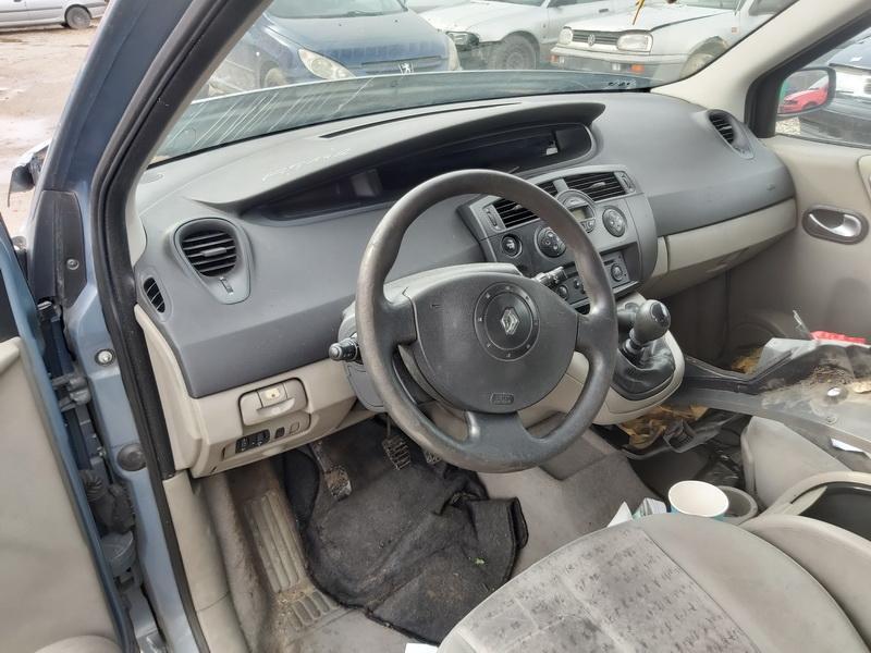 Подержанные Автозапчасти Renault SCENIC 2004 1.9 машиностроение минивэн 4/5 d. Серый 2020-3-19