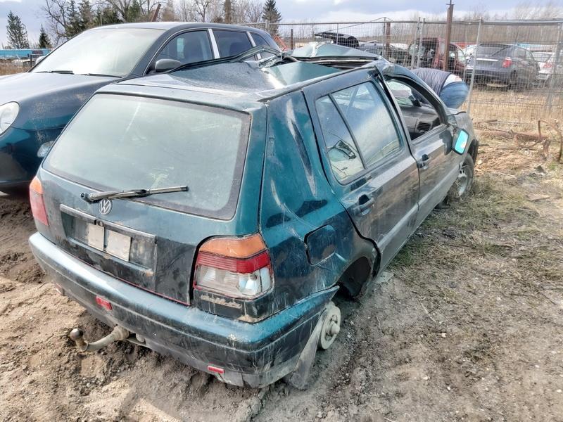 Naudotos automobiliu dallys Foto 8 Volkswagen GOLF 1995 1.9 Mechaninė Hečbekas 4/5 d. Zalia 2020-4-14 A5208