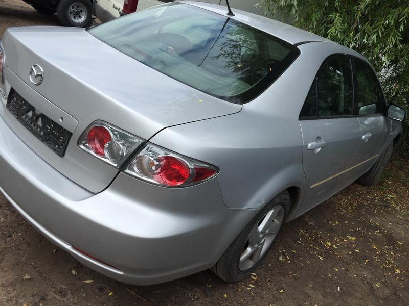 Naudotos automobilio dalys Mazda 6 2002 2.3 Automatinė Sedanas 4/5 d. Sidabrine 2018-6-12