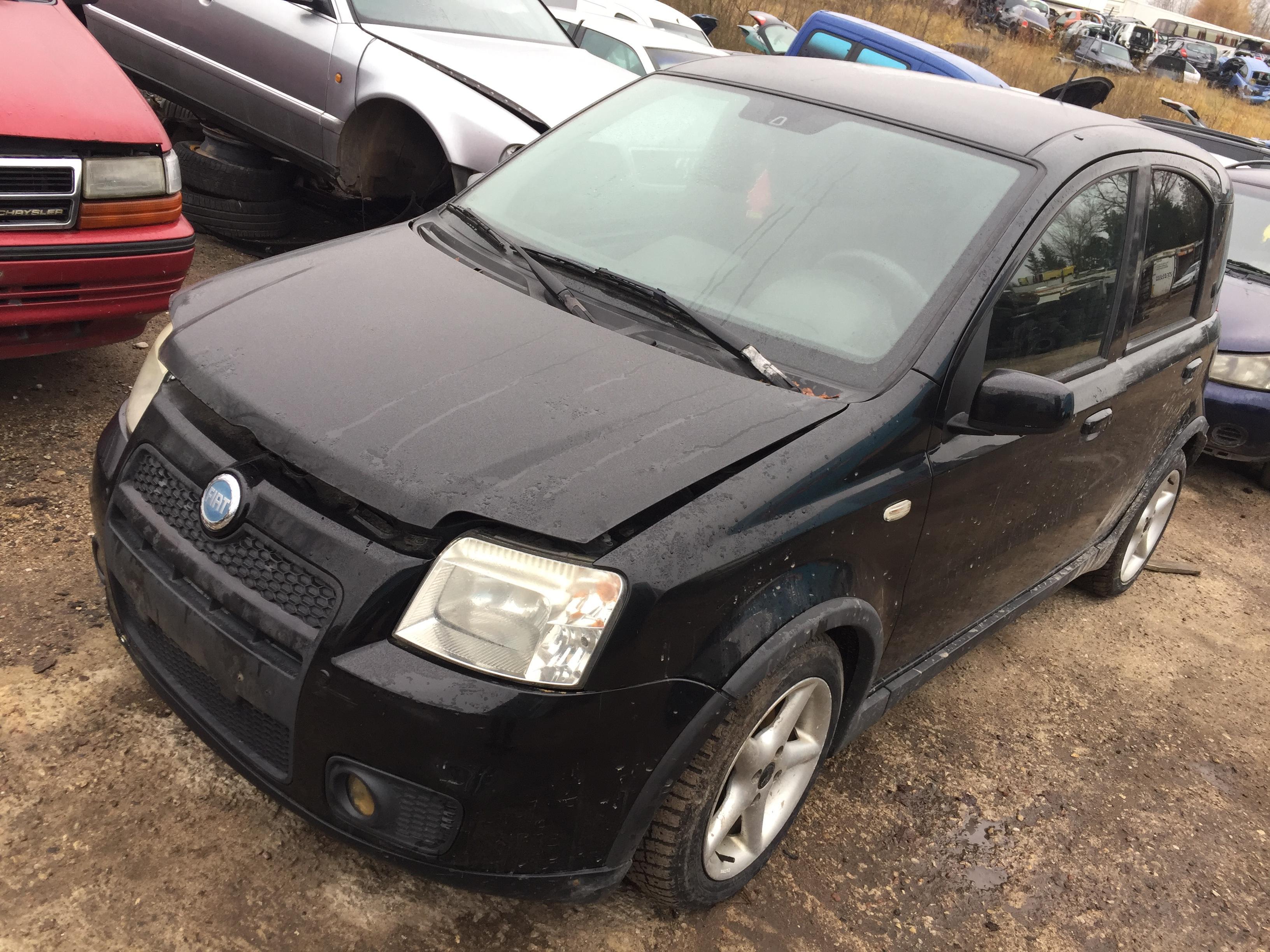 Fiat PANDA 2006 1.4 машиностроение