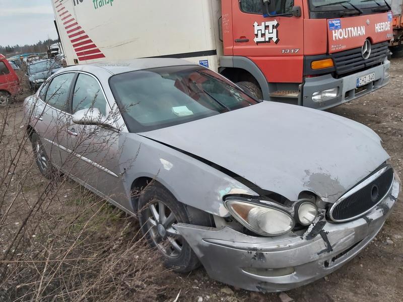 Naudotos automobiliu dallys Foto 3 Buick LACROSSE 2007 3.8 Automatinė Sedanas 4/5 d. Pilka 2020-1-14 A5010