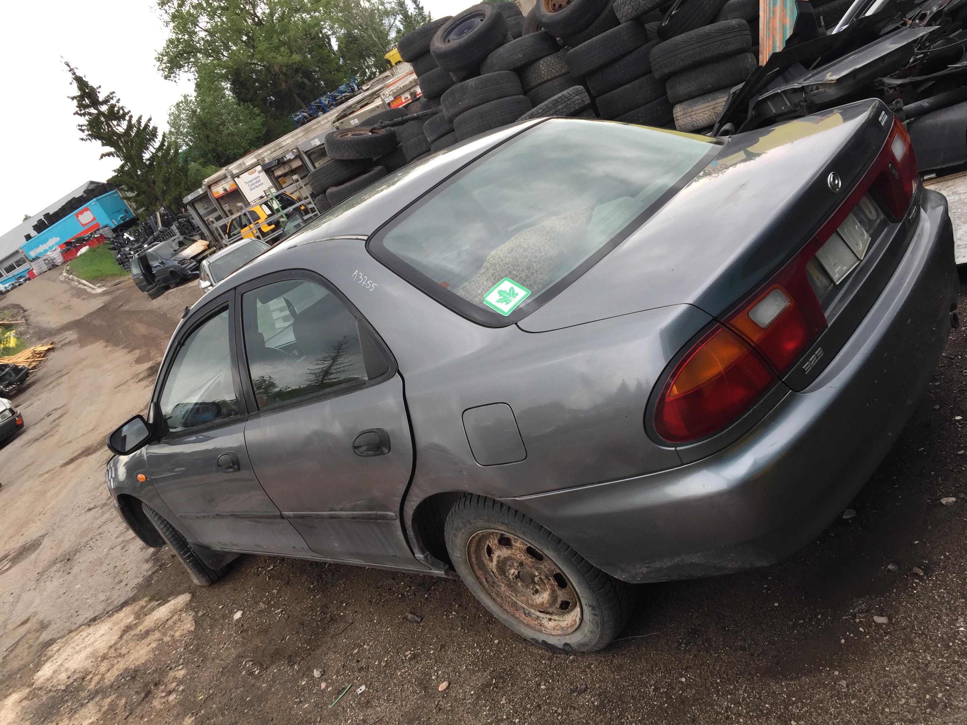 Naudotos automobilio dalys Mazda 323 1994 1.5 Mechaninė Hečbekas 4/5 d. Pilka 2018-5-15