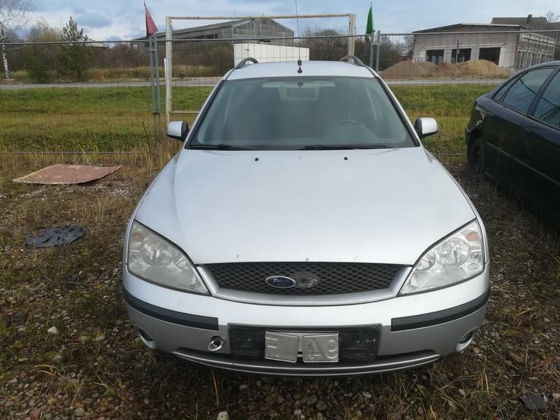 Naudotos automobilio dalys Ford MONDEO 2001 2.0 Mechaninė Universalas 4/5 d. Sidabrine 2019-11-05