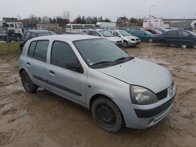 Naudotos automobilio dalys Renault CLIO 2002 1.2 Mechaninė Hečbekas 4/5 d. Pilka 2020-11-13