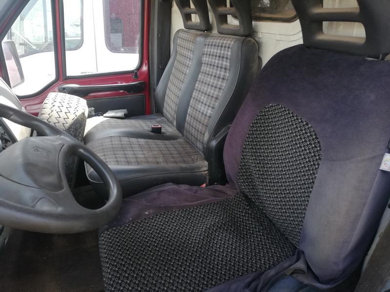 Naudotos automobiliu dallys Foto 7 Peugeot BOXER 1998 2.5 Mechaninė Krovininis mikroautobusas 2/3 d. Vysnine 2019-8-05 A4687