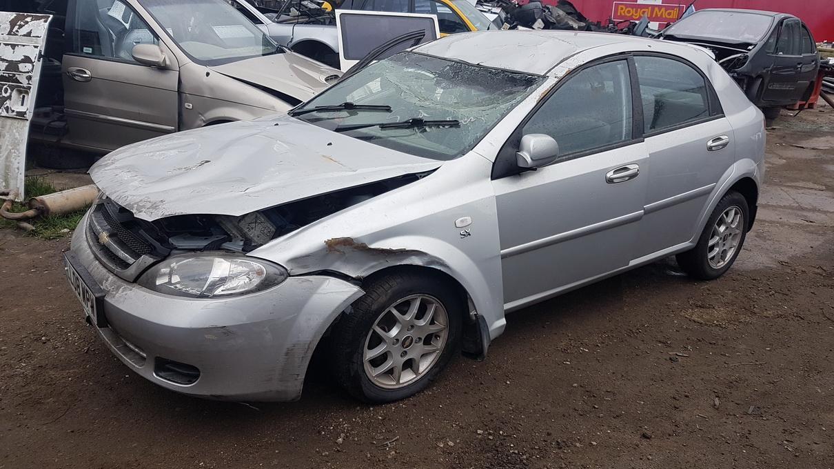 Naudotos automobilio dalys Chevrolet LACETTI 2008 1.6 Mechaninė Hečbekas 4/5 d. Pilka 2017-5-22