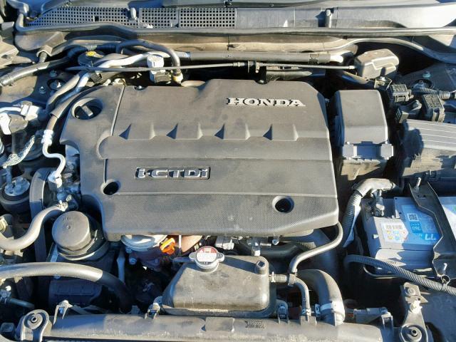 Naudotos automobiliu dallys Foto 8 Honda ACCORD 2008 2.2 Mechaninė Sedanas 4/5 d. Juoda 2019-2-06 A4303