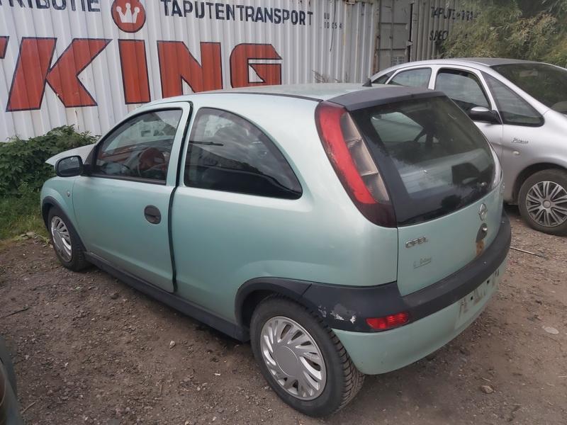 Подержанные Автозапчасти Opel CORSA 2000 1.4 машиностроение хэтчбэк 4/5 d. зеленый 2020-8-11