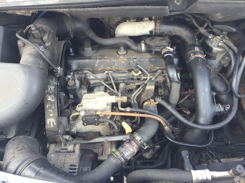 Naudotos automobiliu dallys Foto 2 Seat ALHAMBRA 1997 1.9 Mechaninė Vienatūris 4/5 d. Melyna 2019-1-22 A4264
