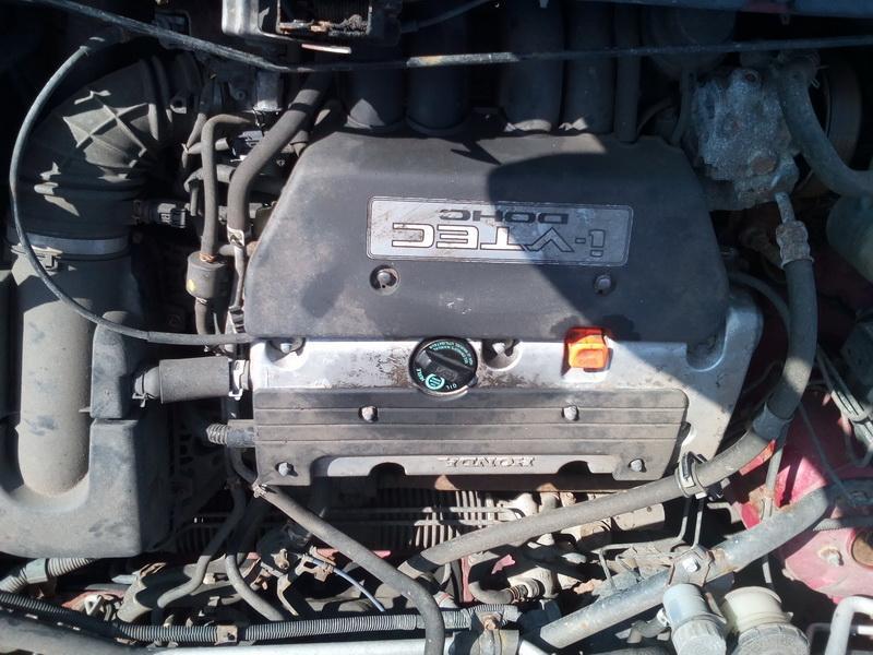 Naudotos automobiliu dallys Foto 4 Honda CR-V 2004 2.0 Mechaninė Visureigis 4/5 d. Raudona 2018-4-04 A3689