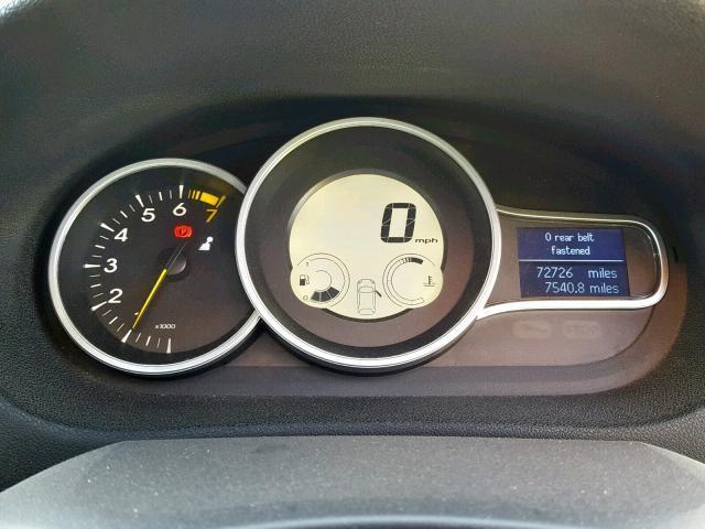 Naudotos automobiliu dallys Foto 9 Renault MEGANE 2009 1.6 Mechaninė Kupė 2/3 d. Raudona 2019-9-18 A4765
