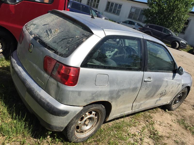 Naudotos automobilio dalys Seat IBIZA 2000 1.6 Mechaninė Hečbekas 2/3 d. Pilka 2018-5-30