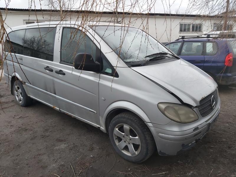 Naudotos automobilio dalys Mercedes-Benz VITO 2004 2.2 Mechaninė Krovininis mikroautobusas 2/3 d. Pilka 2020-4-16