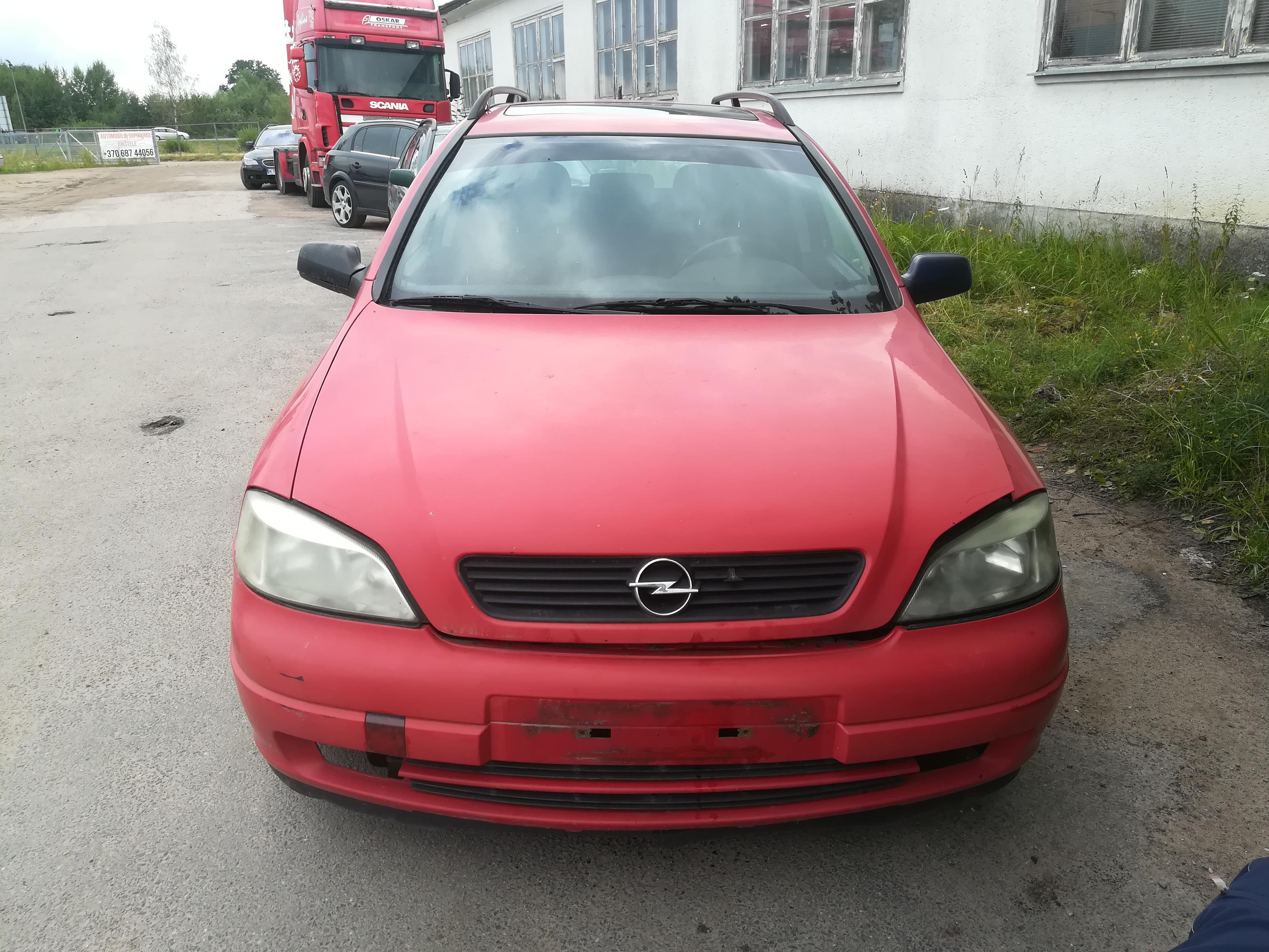 Naudotos automobiliu dallys Foto 3 Opel ASTRA 1999 2.0 Mechaninė Universalas 4/5 d. Raudona 2019-7-18 A4637