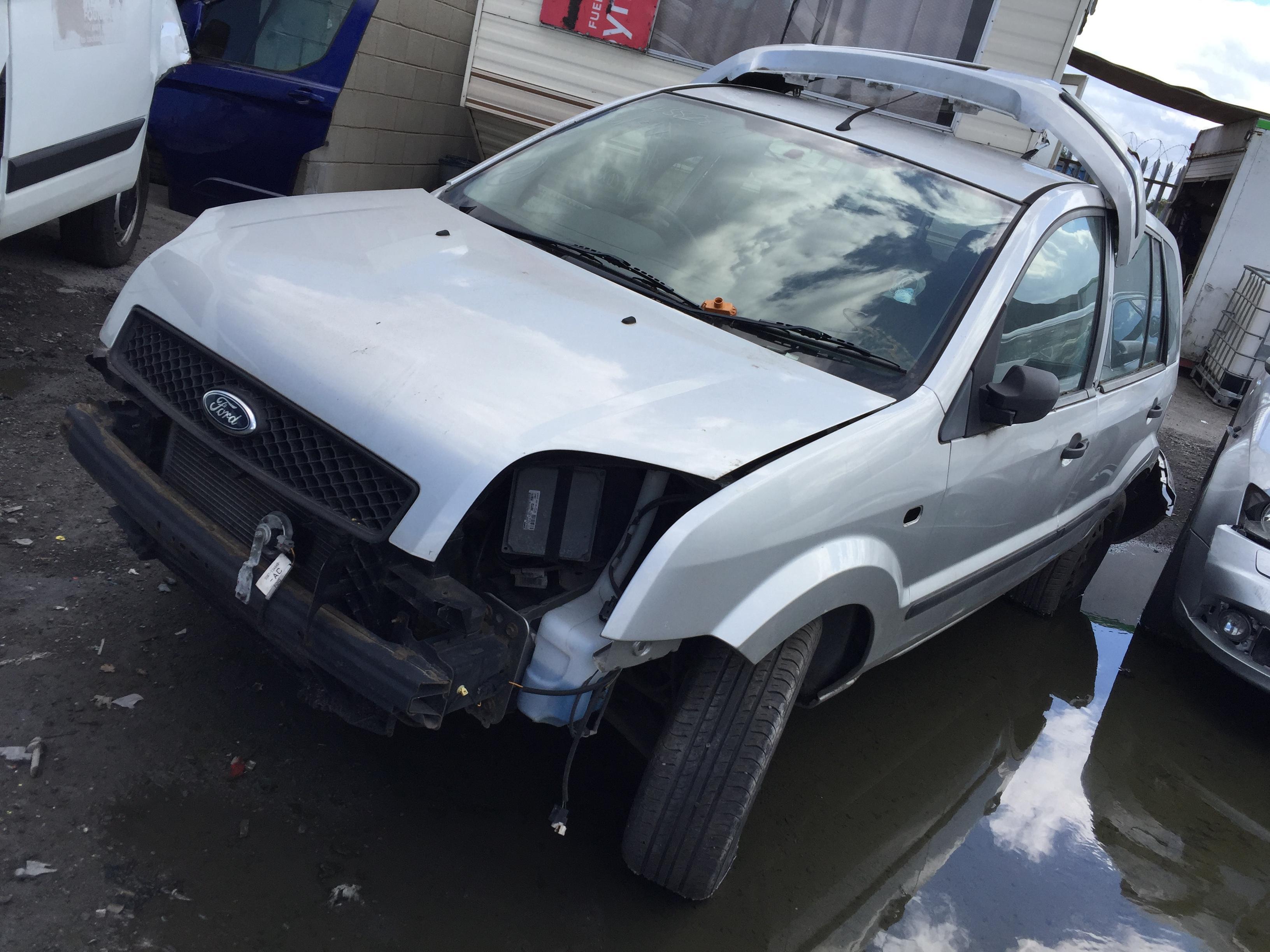 Naudotos automobilio dalys Ford FUSION 2005 1.4 Mechaninė Hečbekas 4/5 d. Sidabrine 2018-7-31
