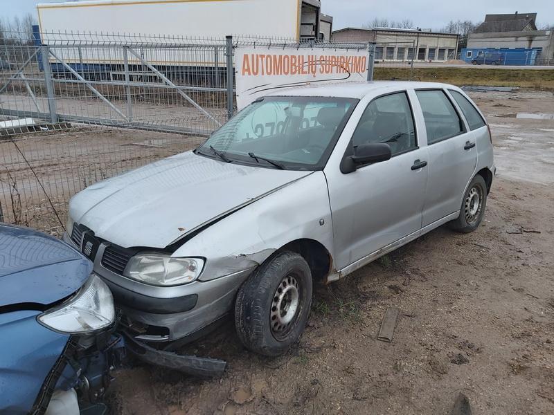 Naudotos automobilio dalys Seat IBIZA 2002 1.9 Mechaninė Hečbekas 4/5 d. Sidabrine 2020-1-10