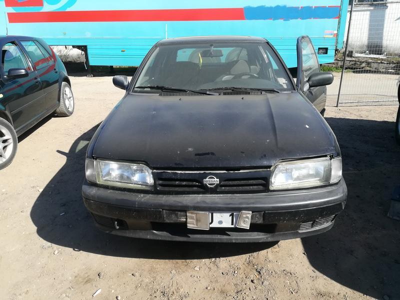 Naudotos automobilio dalys Nissan PRIMERA 1991 1.6 Mechaninė Hečbekas 4/5 d. Juoda 2019-4-26