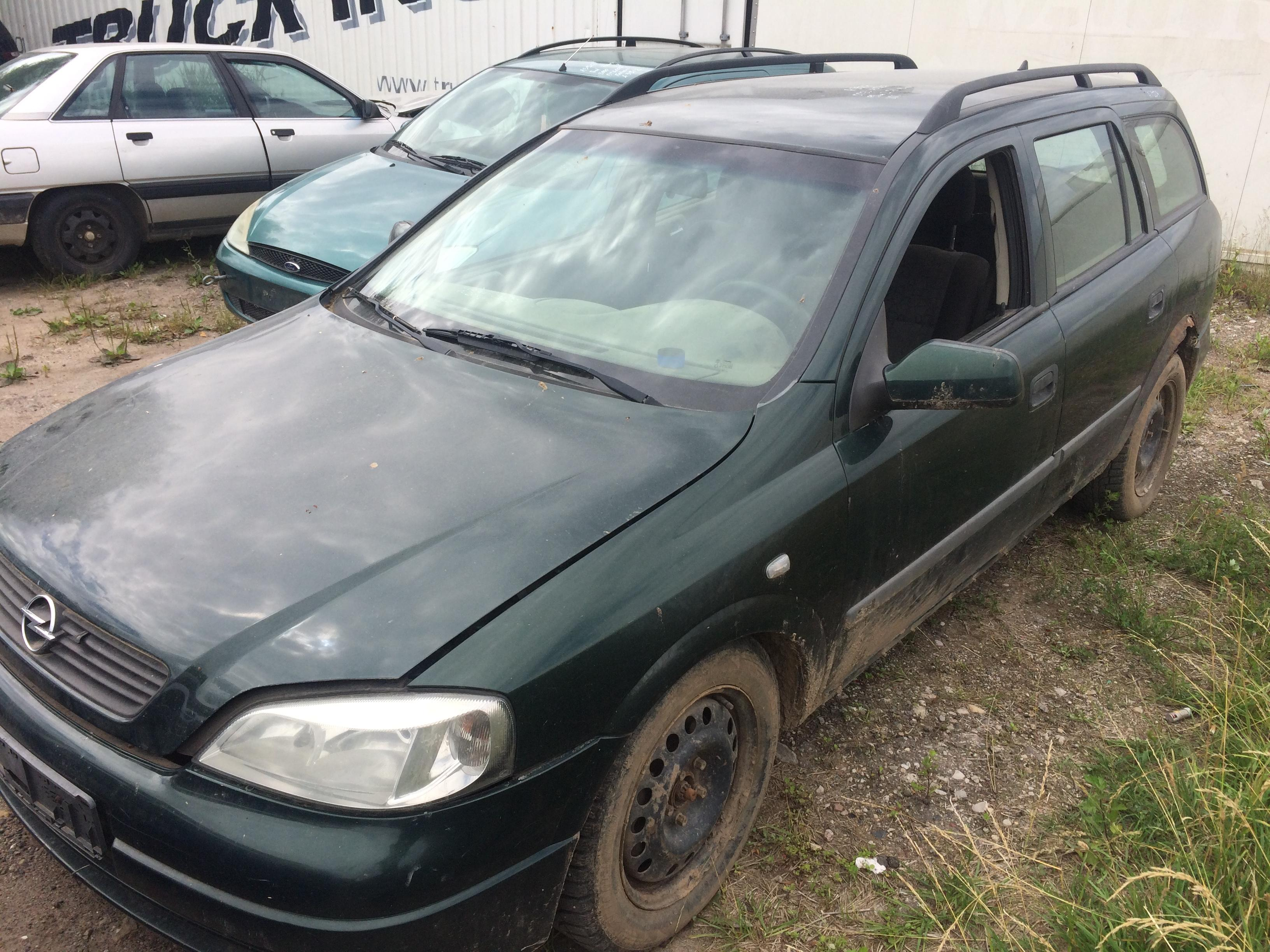 Used Car Parts Foto 3 Opel ASTRA 1999 2.0 Mechanical Universal 4/5 d. Green 2018-7-10 A3924