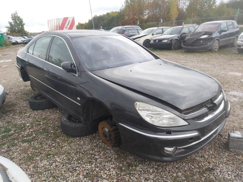 Naudotos automobiliu dallys Foto 1 Peugeot 607 2007 2.7 Automatinė Sedanas 4/5 d. Juoda 2020-10-15 A5760