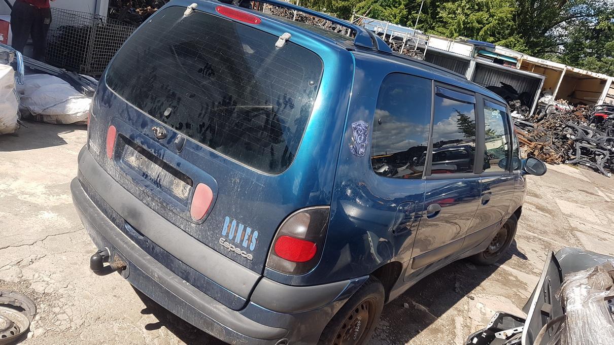 Подержанные Автозапчасти Renault ESPACE 1997 3.0 автоматическая минивэн 4/5 d. синий 2017-7-14