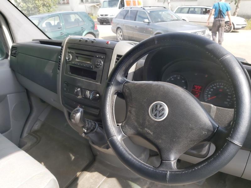 Naudotos automobilio dalys Volkswagen CRAFTER 2007 2.5 Mechaninė Krovininis mikroautobusas 2/3 d. Balta 2020-8-14