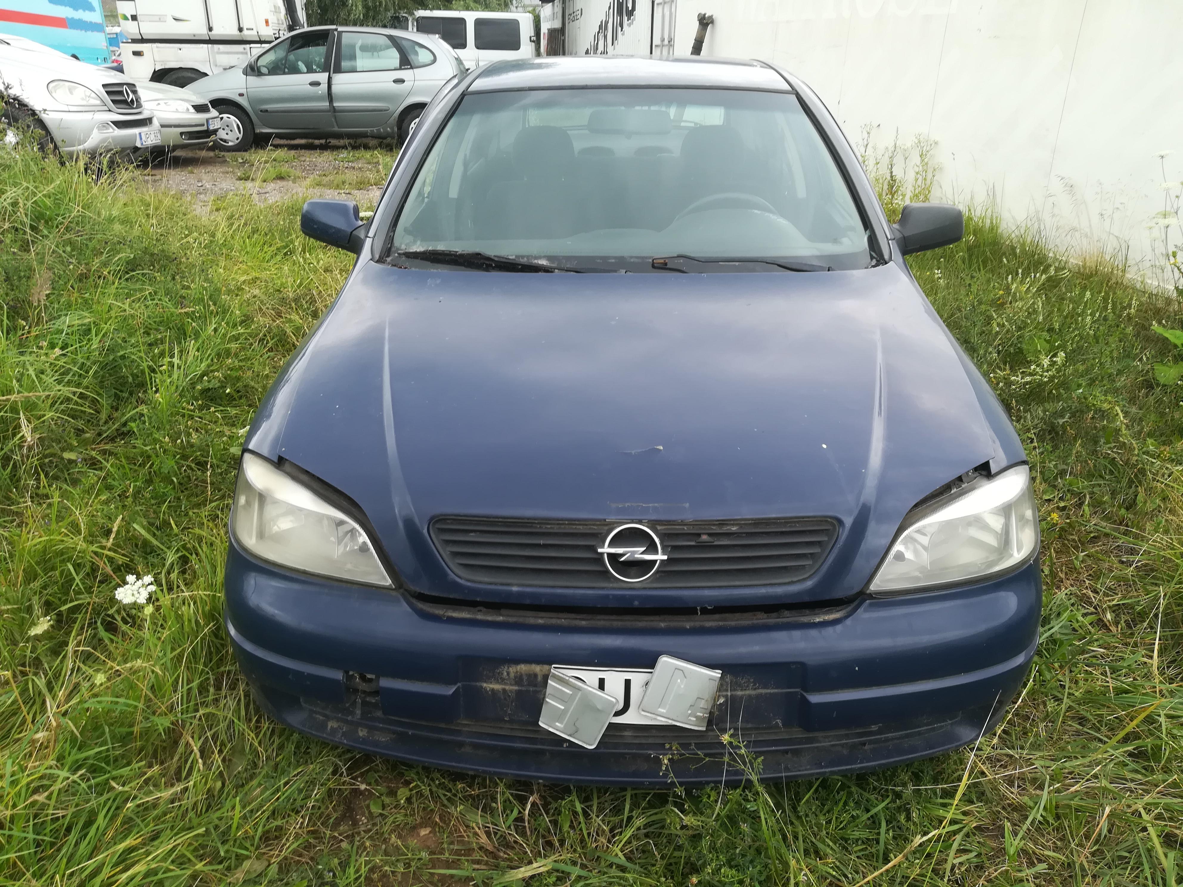 Opel ASTRA 2001 1.7 Mechaninė