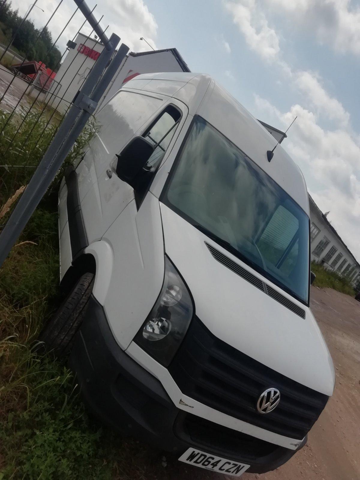 Naudotos automobiliu dallys Foto 1 Volkswagen CRAFTER 2014 2.0 Mechaninė Krovininis mikroautobusas 2/3 d. Balta 2020-7-28 A5466