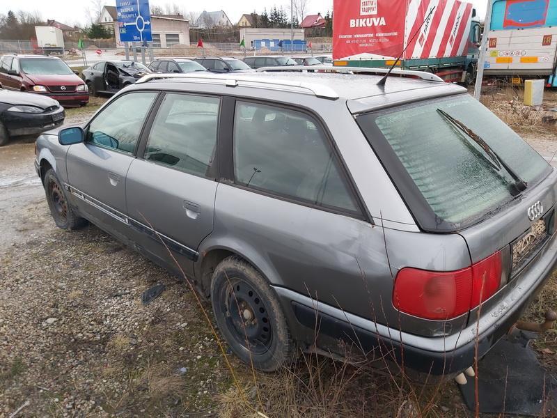 Naudotos automobiliu dallys Foto 7 Audi 100 1993 2.5 Mechaninė Universalas 4/5 d. Pilka 2019-12-23 A4982