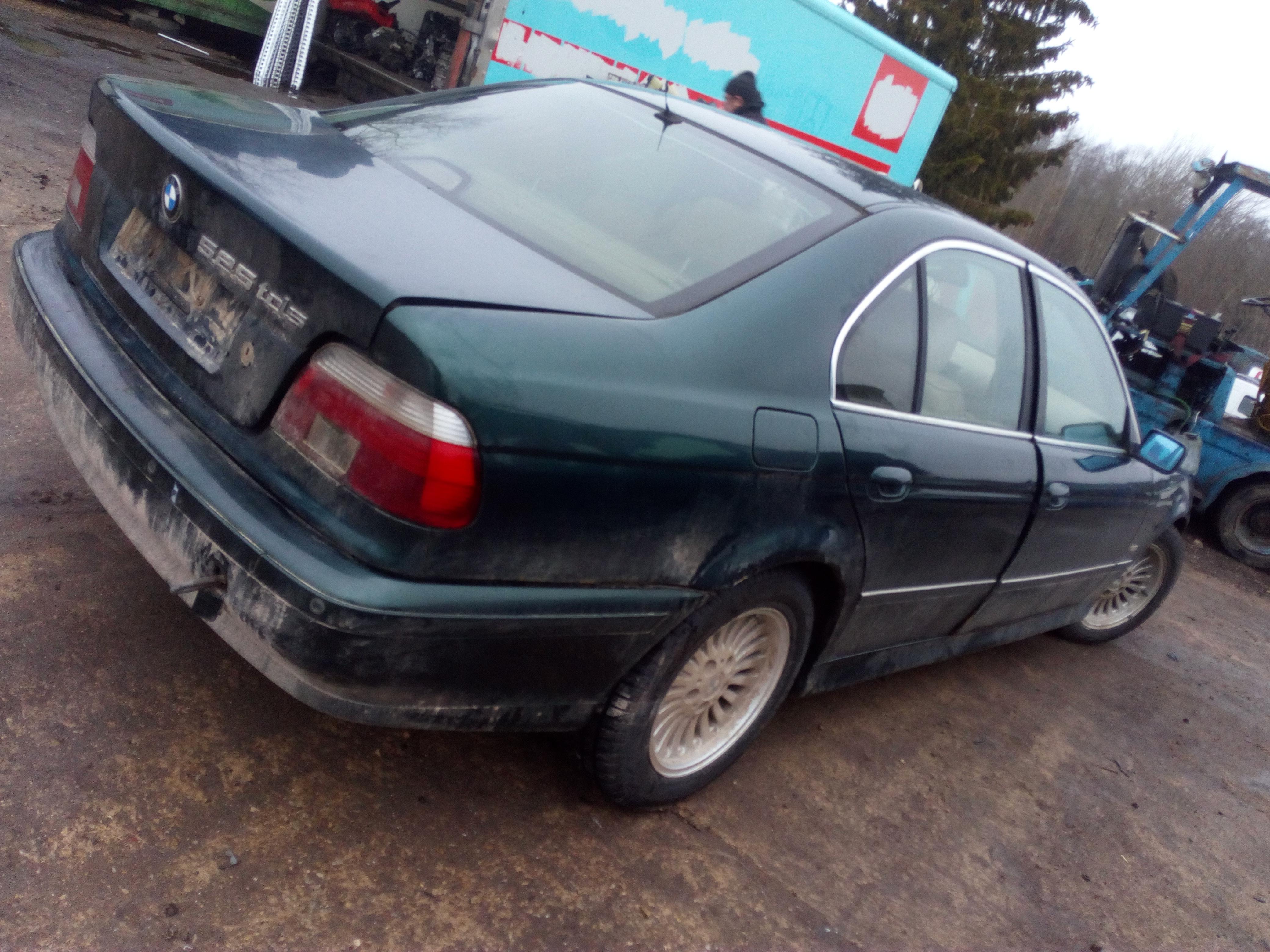Naudotos automobilio dalys BMW 5-SERIES 1997 2.5 Mechaninė Sedanas 4/5 d. Zalia 2018-1-03
