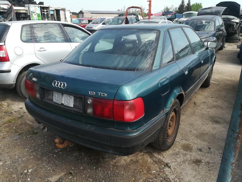 Naudotos automobiliu dallys Foto 9 Audi 80 1992 1.9 Mechaninė Sedanas 4/5 d. Zalia 2019-5-23 A4508