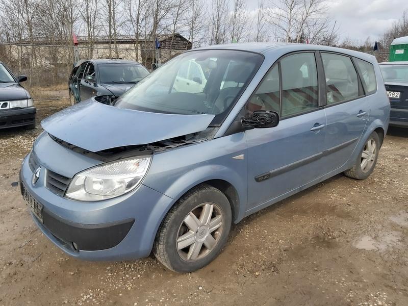 Naudotos automobiliu dallys Foto 4 Renault SCENIC 2004 1.9 Mechaninė Vienatūris 4/5 d. Pilka 2020-3-19 A5142