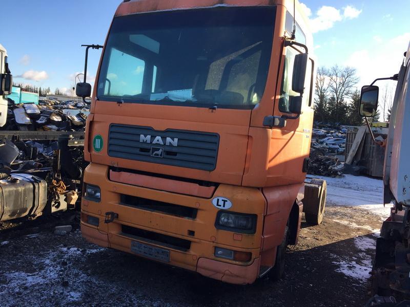 Naudotos automobiliu dallys Foto 3 Truck - MAN TGA 2002 12.0 Mechaninė Vilkikas 2/3 d. Oranzine 2018-11-27 A4212