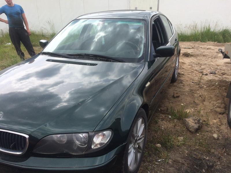 Подержанные Автозапчасти Foto 2 BMW 3-SERIES 2000 2.0 машиностроение седан 4/5 d. зеленый 2018-6-13 A3867