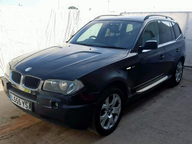 Naudotos automobilio dalys BMW X3 2004 3.0 Automatinė Visureigis 4/5 d. Juoda 2019-9-25