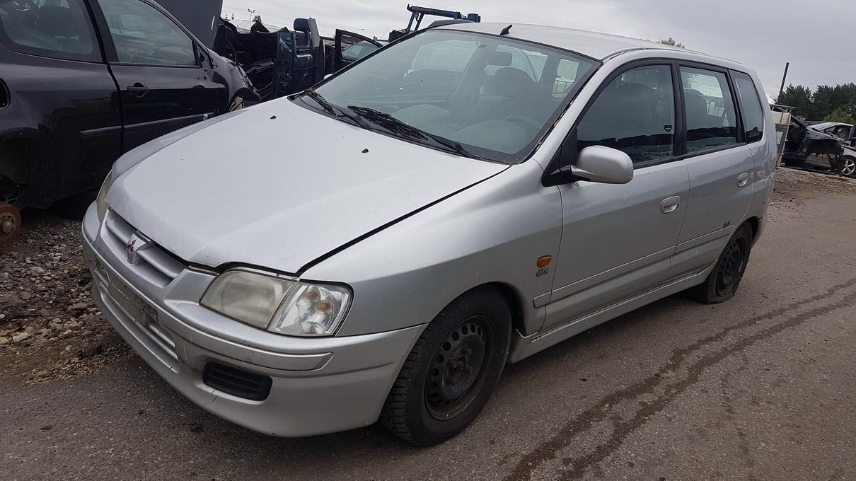 Naudotos automobilio dalys Mitsubishi SPACE STAR 1998 1.8 Mechaninė Vienatūris 4/5 d. Pilka 2017-7-18