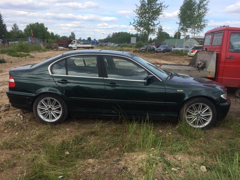 Подержанные Автозапчасти Foto 5 BMW 3-SERIES 2000 2.0 машиностроение седан 4/5 d. зеленый 2018-6-13 A3867