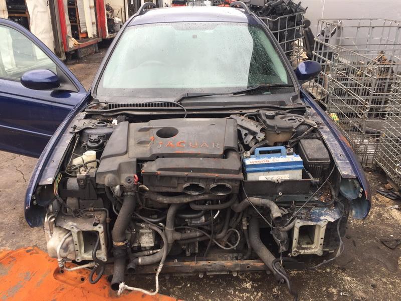 Naudotos automobilio dalys Jaguar X-TYPE 2004 2.0 Mechaninė Universalas 4/5 d. Melyna 2019-3-05