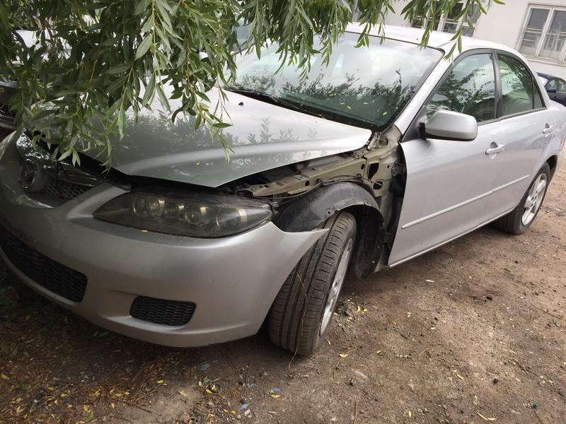 Naudotos automobiliu dallys Foto 8 Mazda 6 2002 2.3 Automatinė Sedanas 4/5 d. Sidabrine 2018-6-12 A3860