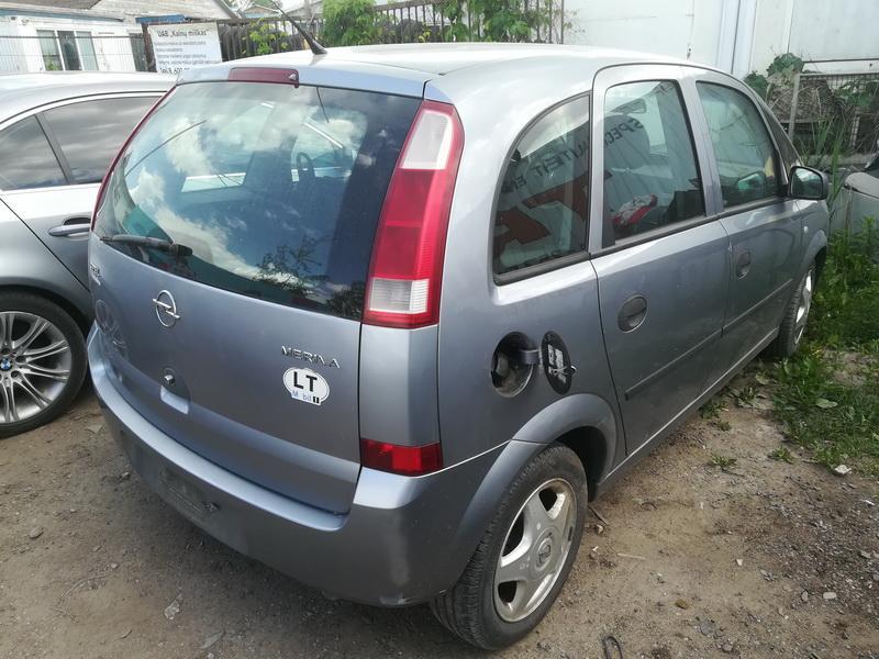 Naudotos automobiliu dallys Foto 9 Opel MERIVA 2004 1.6 Mechaninė Hečbekas 4/5 d. Sviesiai pilka 2019-6-06 A4548